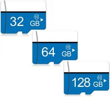 Micro Sd Class 10 Memory Card 32GB/64GB/128GB +Adapter+Card Reader