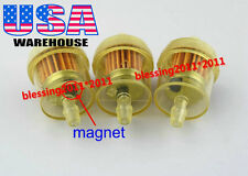 3x CAN AM ATV DIRT BIKE INLINE GAS CARBURETOR FUEL FILTER 1/4'' 6-7mm MOTOR A13