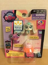 littlest pet shop pet in the city 337 338 Landon lilypad fluttery McTeal D05 NEW
