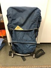 VINTAGE KELTY EXTERNAL FRAME BLUE BACKPACK HIKING CAMPING MOUNTAIN CLIMBING