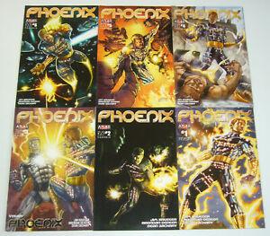 Phoenix vol. 2 #1-6 VF/NM complete series - atlas comics - jim krueger 2 3 4 5
