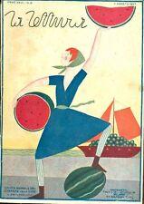 LA LETTURA. Rivista mensile del Corriere della Sera. 1927, numeri 4-5-6-8
