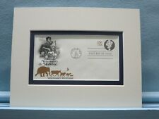 Veterinary Medicine & Veterinarians honored by First Day Cover of their stamp