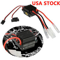 High Voltage Waterproof 320A Brushed ESC Speed Controller For RC Car Boat ship