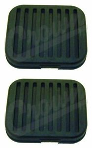 Pedal Pad Pair For Jeep 1957 to 1986 CJ-3B CJ5 CJ6 CJ5 CJ7 CJ8 CRN J5363508x2