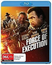 FORCE OF EXECUTION BLU RAY - NEW & SEALED STEVEN SEAGAL, DANNY TREJO FREE POST