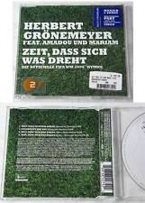 HERBERT GRÖNEMEYER Zeit, dass sich was dreht /2006 FIFA WM.. Maxi CD + Video TOP