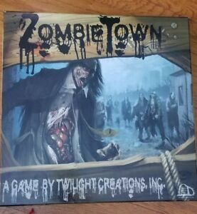 Zombie Town strategy board game Unsealed