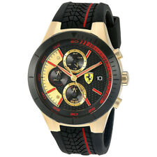 Ferrari Casual Analog Mens Black Watch 0830293 0830298