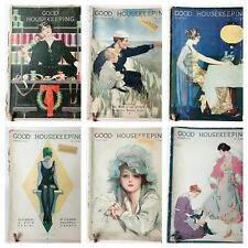 Lot of 9 Good Housekeeping Magazines Coles Philips and Jessie Wilcox Smith