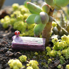 10x Miniature Fairy Garden Micro Landscape Mini Dollhouse Bonsai Decor Stump