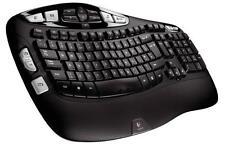 Logitech K350 Compact Tastatur Schwarz QWERTZ USB