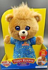 Teddy Ruxpin Hug 'n Sing Lullaby Singing Walmart Exclusive Bear *NEW*