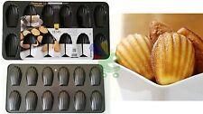 Stampi stampo forma forme per 12 madelein madeleine biscotti pasticceria cake