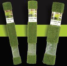 More details for new cheap artificial grass roll remnant offcut mat 30mm + thick  cheap uk