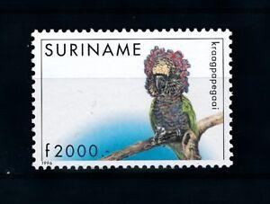 [78382] Surinam Suriname 1996 Birds Vögel Oiseaux Parrot  MNH