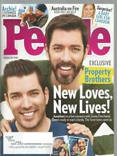 People Magazine (January 20, 2020) PROPERTY BROTHERS~~~~~~~NEW LOVES, NEW LIVES!