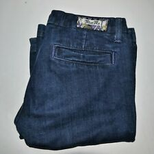 MISS ME JP4508 Dark Blue Flare Jeans Size 30 (Measures 32x34)
