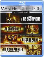 Il Re Scorpione Quadrilogia - Cofanetto Con 4 Blu Ray - Nuovo Sigillato