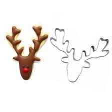 Reindeer Christmas Cookie Cutter Deer Mould Biscuits Fondant Christmas Baking