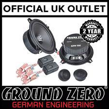 Vauxhall Corsa C Ground Zero 280 W Pair Component Front Door Car Speaker Kit