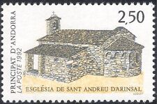 Andorra 1992 Church/Buildings/Architecture/Animation/Religion 1v (n44086)