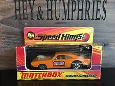 Matchbox speedkings very rare K 22b-2. Orange versión Mint OVP Good from 1970