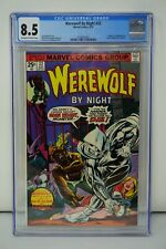 MARVEL COMICS CGC 8.5 WEREWOLF BY NIGHT 32 8/75 OFF-WHITE TO WHITE PAGES