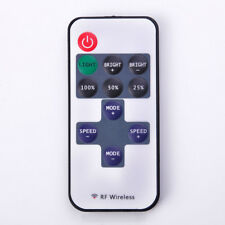 1Pc 12V RF LED Strip Light Mini Wireless Switch Controller Dimmer With Remot New