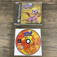Spyro Ripto's Rage (Sony PlayStation 1) Complete Black Label - Mint Disc - PS1