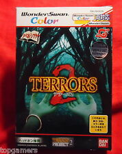 Terrors 2 - incl (Trading-) Card - SWJ-BANC05 - Bandai WonderSwan Color