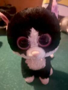 Beanie Boos - Katze Schwarz Stofftier