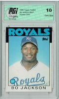 Bo Jackson 1986 Topps Traded #50T Rookie Card PGI 10