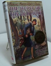 Nancy Drew - The Secret of the Old Clock by Carolyn Keene -facsimile of original