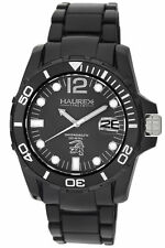 Haurex Italy Women's N1354UNN Caimano Luminous Black Dial Black Rubber Watch