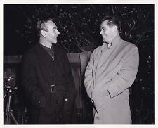 GLENN FORD Director TED TETZLAFF Original CANDID England Vintage MGM DBW Photo