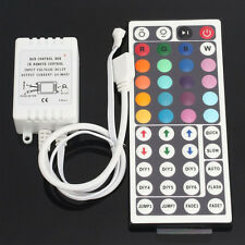 12V 24 Key IR BOX Remote Control Controller For 3528 5050 RGB LED Light Strips