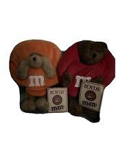Boyds Bears Plush M&M Red And Orange