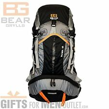 Bear Grylls 45L Backpack (Hydration Pack Compatible) Travel Hike Outdoor Bag NEW