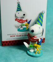 HALLMARK Keepsake Ornament Snoopy New Year