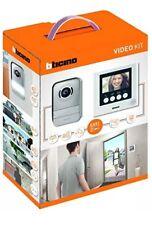 BTicino 316913 Kit Videocitofono 2 Fili, 4.3 Mono/Bifamiliare, Bianco