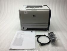 HP LaserJet P2055dn Duplex Network Monochrome Printer NO Toner CE459A ,19K PC
