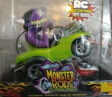 """!! RARE !! WOWWEE RAT FINK INSPIRED !! MONSTER RODS """"ZOOMIN ZOMBIES"""" !! MISB !!"""