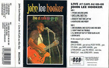 John Lee Hooker ‎– Live At Cafe Au-Go-Go (1989)  Music Cassette  NEW  SPEEDYPOST