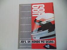 advertising Pubblicità 1991 CASCO HELMET JEB'S H89