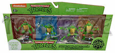 "TEENAGE MUTANT NINJA TURTLES CLIP & GO SET! CAKE TOPPER KEY CHAIN FIGURE 3"" BNIB"