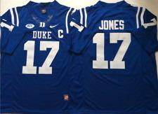Men's Duke Blue Devils #17 Daniel Jones Blue Football Jersey