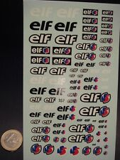 "DECALS 1/24 - 1/43 PETROLIER "" ELF "" MODERNE -  T357"