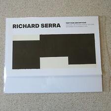 "Richard Serra Gagosian Gallery Exhibition Triptych #2 Poster 25"" X 39"" Drawing"
