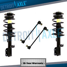 2 Front Quick Strut Assembly  +2 Stabilizer Sway Bar End 2009 -2013 Corolla FWD